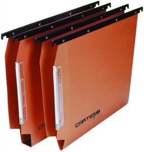 Cartelle sospese Cartesio armadio arancio