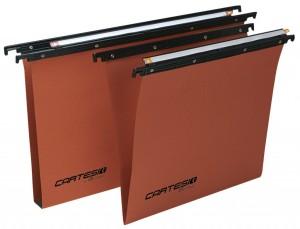 Cartelle sospese Cartesio cassetto arancio