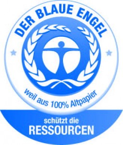 Logo Blaue Engel - Cartesio Eco